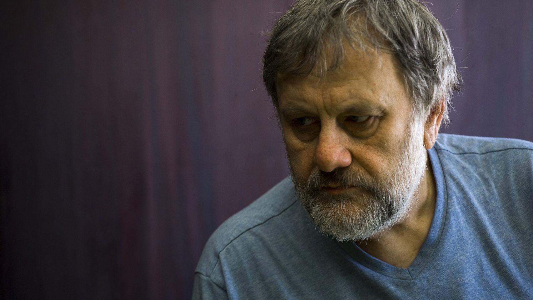 El filósofo, sociólogo y crítico cultural esloveno Zizek. EFE