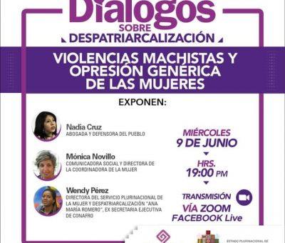 Encuentro virtual: Las violencias machistas y opresion genérica de las mujeres