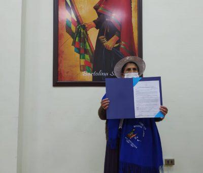 Reconocimiento a una mujer luchadora y defensora de los derechos de las mujeres