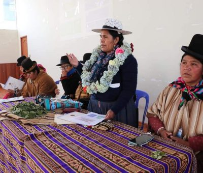 Ciudad de El Alto: Ministra de Culturas sostiene reunión de coordinación con mujeres de la Federación Bartolina Sisa del Departamento de La Paz