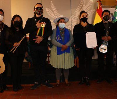 RECONOCIMIENTO PÓSTUMO A LA ARTISTA BOLIVIANA LUISA MOLINA